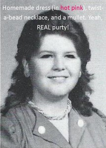 My 9th grade yearbook picture